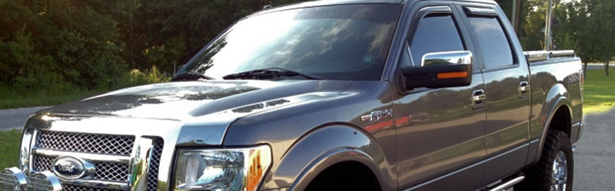 TuffTruckParts.com - Truck Side Window Visors